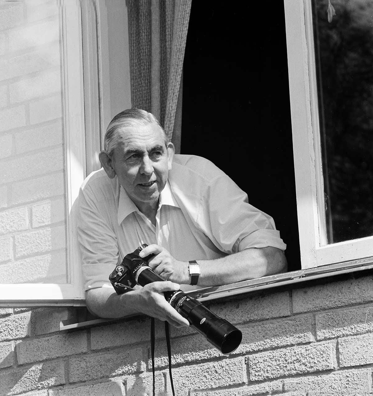 Hans Lidman med Kamera i högsta hugg