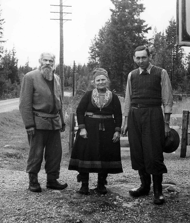 Hans Lidman på Nordkalotten