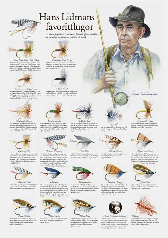 Hans Lidmans favoritflugor