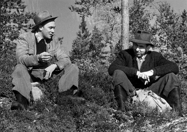 Hans Lidman och Stig Elvén