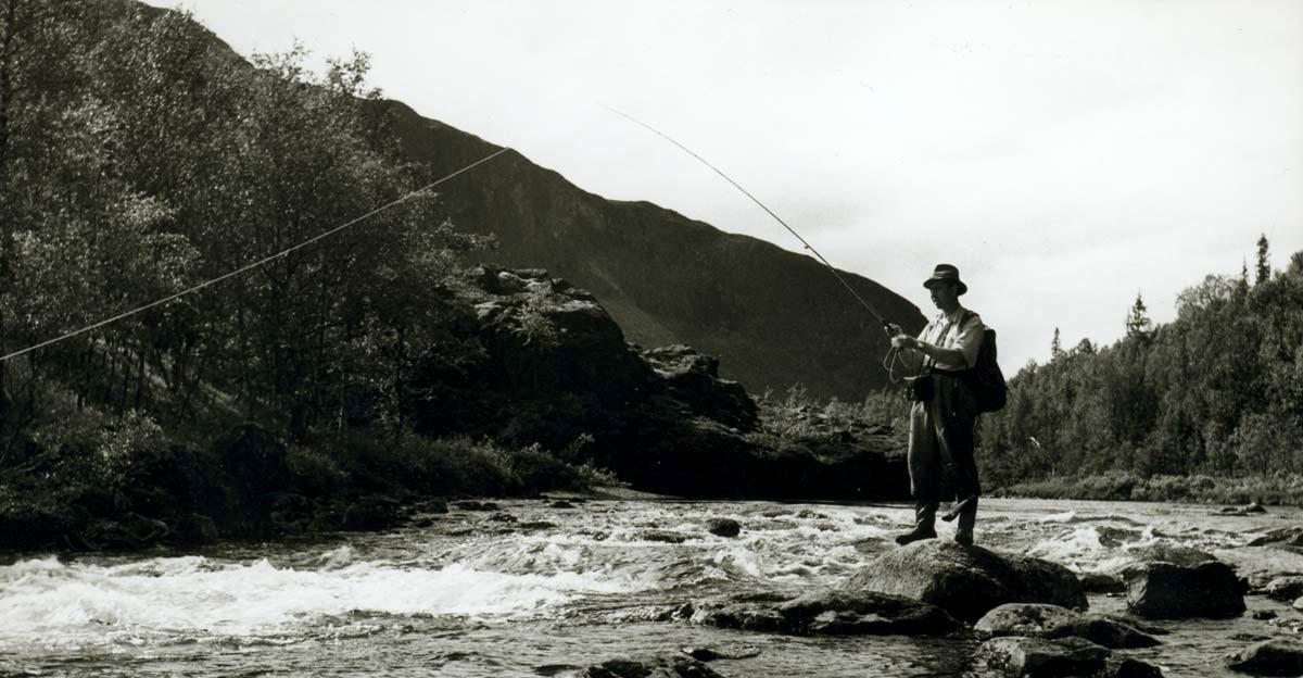 Hans Lidman fiskar