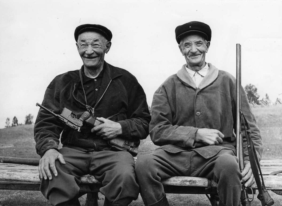 Jägare på Nordkalotten